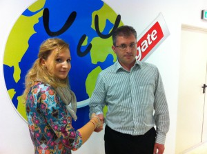 Andreea Vintila, Sales and customer service Colgate-Palmolive in Romania