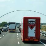 L'A1 nel tratto tra Milano e Bologna