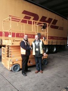 Haulotte photo DHL