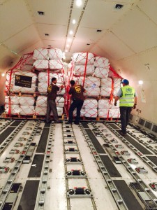 UPS moves humanitarian aid from Jordan to Greece