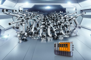 Comau B&R 10k robots sold