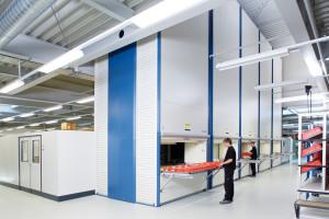 Magazzino verticale automatico Lean-Lift a piani traslati
