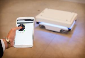 MIR 100 è semplice da programmare mediante smartphone o tablet, senza installare software aggiuntivi.