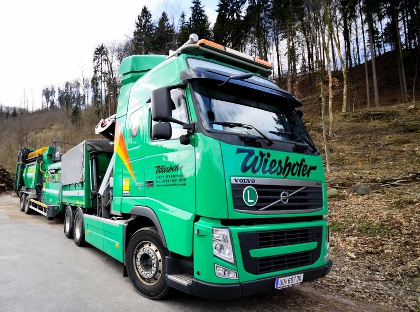 trattori stradali usati verde