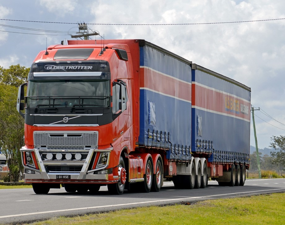 Truck 1 rosso