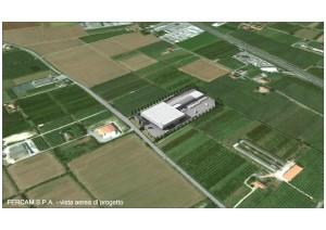 Foto Impianto vista aerea di progetto