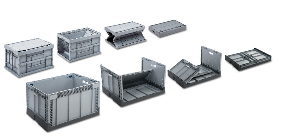 Product Range Collapsible and Foldable Containers