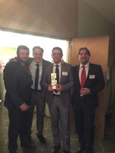 Da sinistra: Carlos Bordonado, Antonio Gómez de la Vega, Roberto Marangoni e Stefano Sorbini